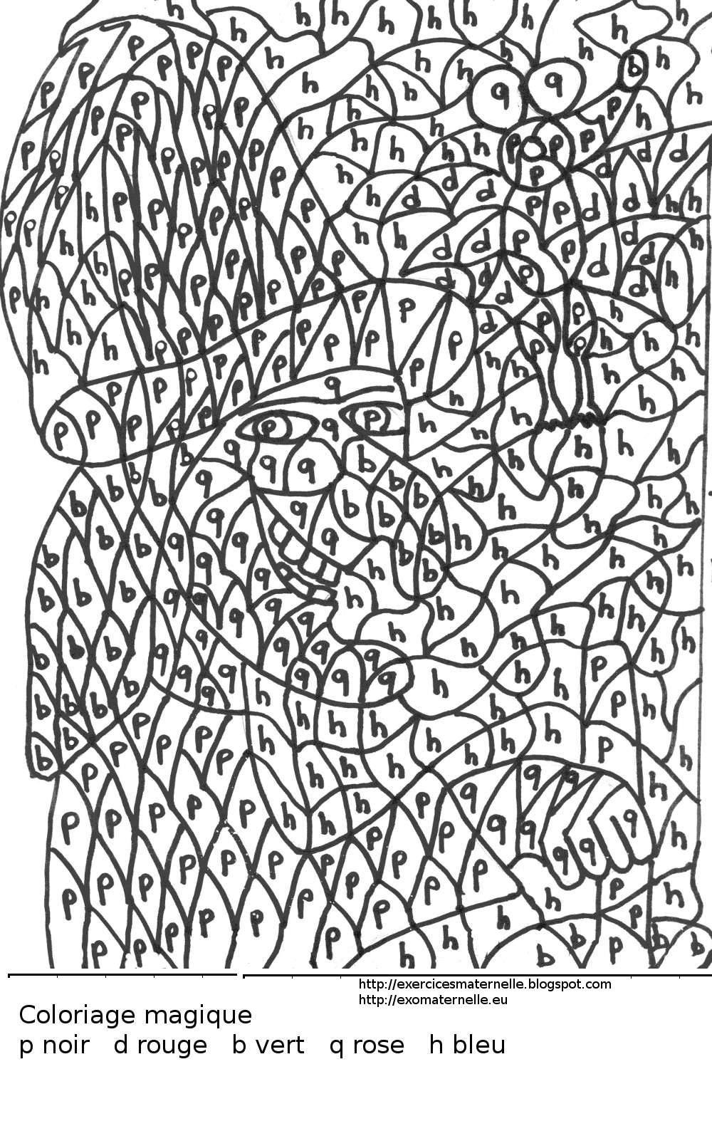 Maternelle ah les bonnes soupes sorci res coloring pages for teenagers coloring pages et - Livre coloriage magique maternelle ...