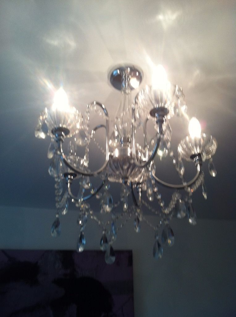 Crystal Ceiling Light On Gumtree Modern Living Fitting Available If You Live