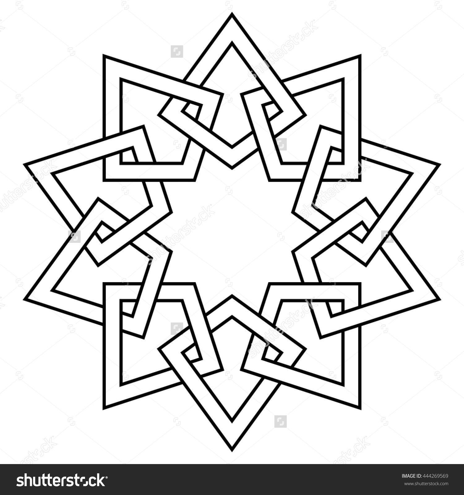 Pin By Ana Bu On Draw Geometric Drawing Islamic Art