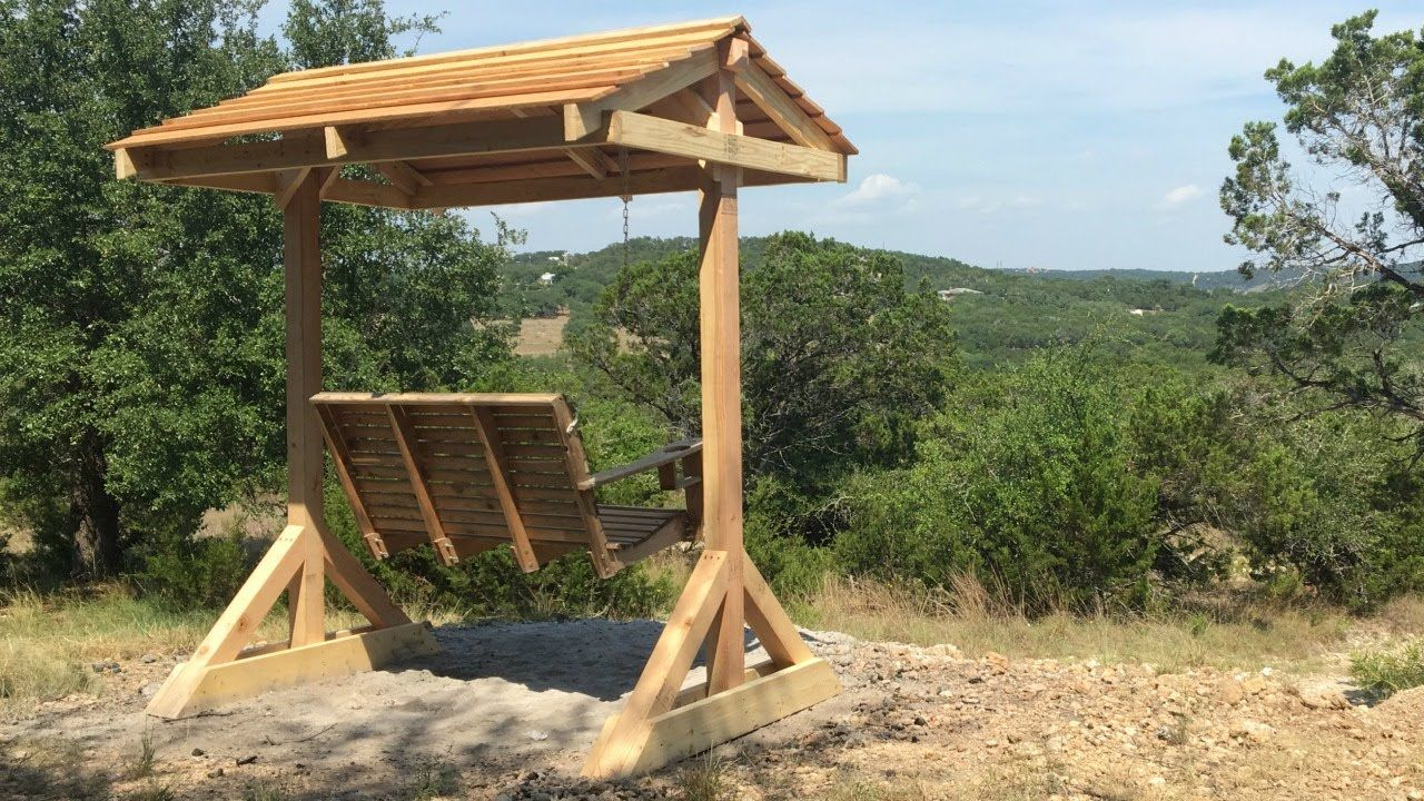How to Build A Porch Swing Frame | Science and technology ...