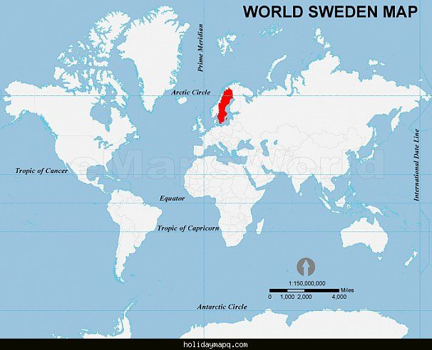 cool SWEDEN MAP LOCATION | Holidaymapq | Pinterest | Sweden map ...