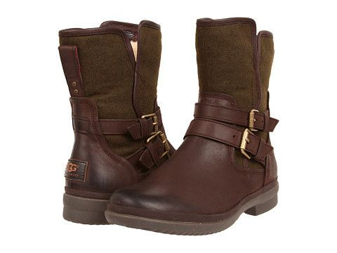 3fb73f7937e Ugg: Women's Simmens Stout Boot (Brown/Green) The Womens Simmens by ...