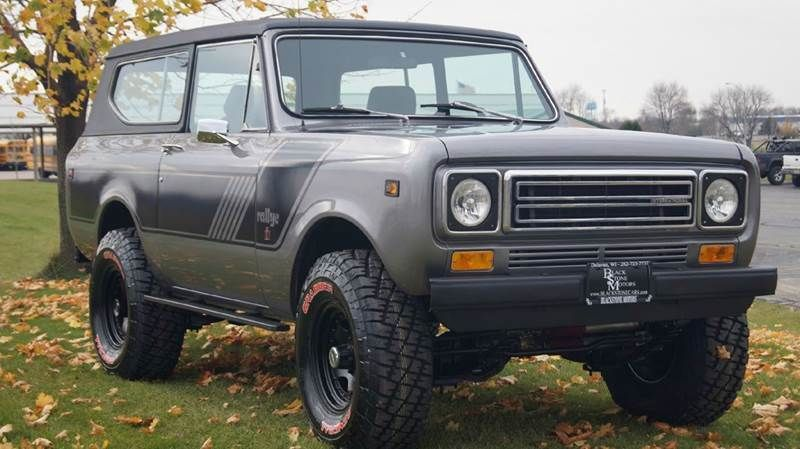 International Harvester : Scout RALLY | International Scout