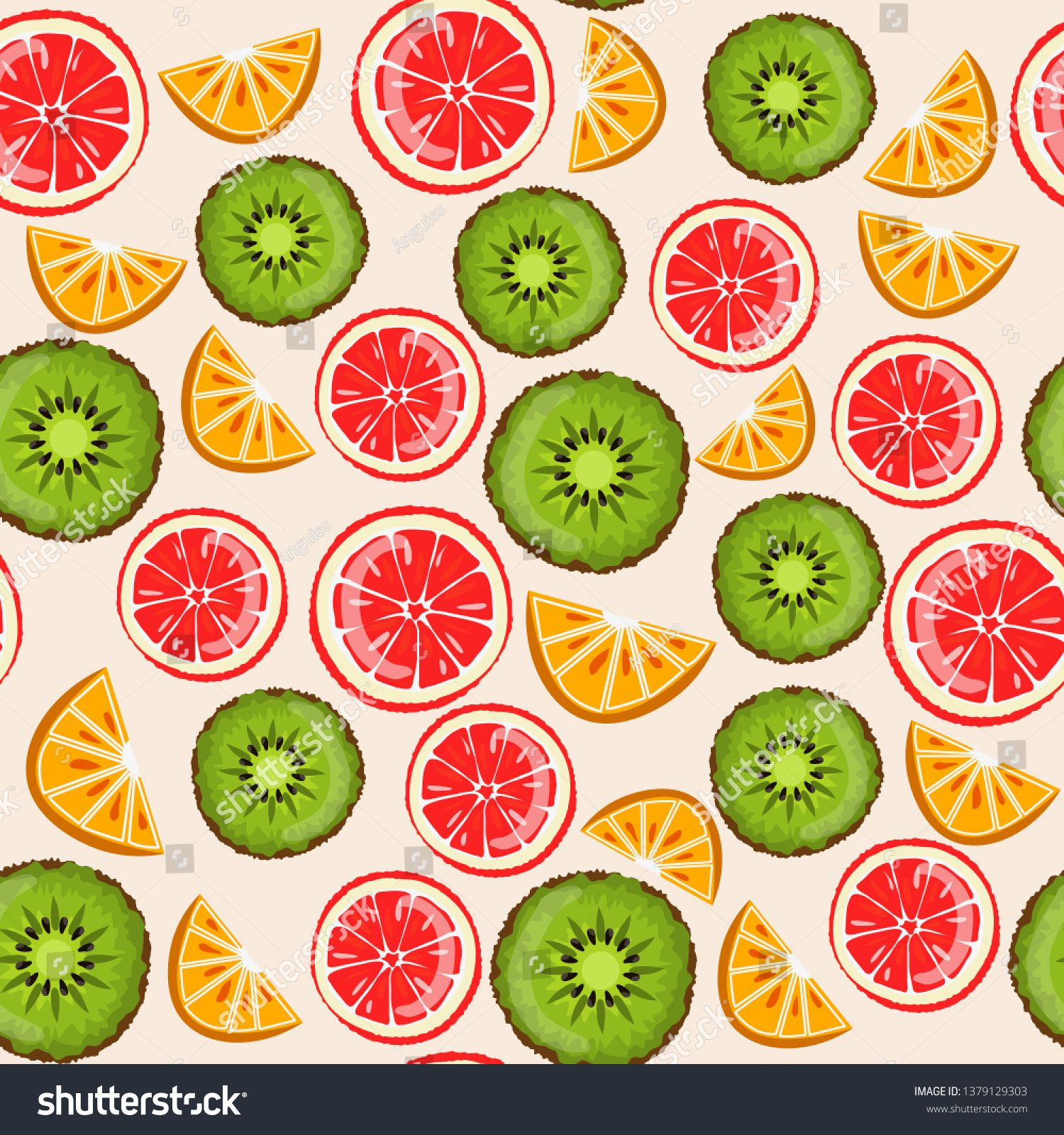 Summer pattern  #illustration #vectorillustration #vectorart #vectorartist #clipart #shutterstock #adobeillustrator #vectorgraphics #summer #summerpattern #seamlesspattern #fruits #fruitpattern
