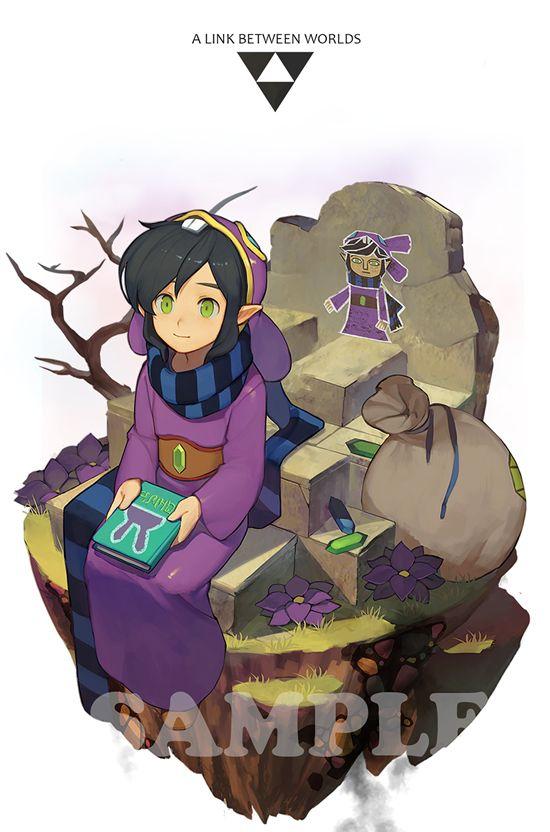 The Legend Of Zelda A Link Between Worlds Ravio Zelda Log