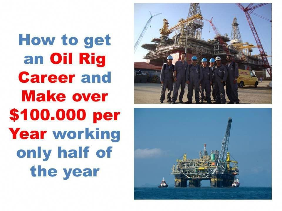 Entry level oil rig jobs how to get offshore oil and gas