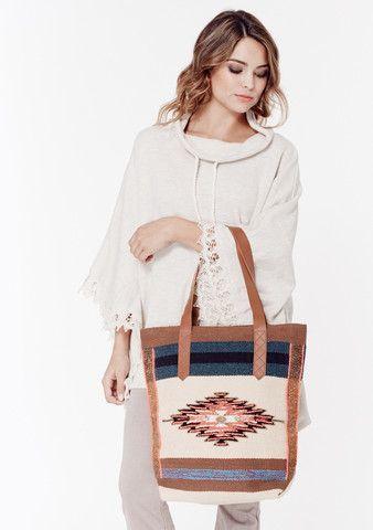 f101e8eeb5db Lakota Tote - LOVESTITCH  lovestitch  boho  vintage  tote  bag  oversized