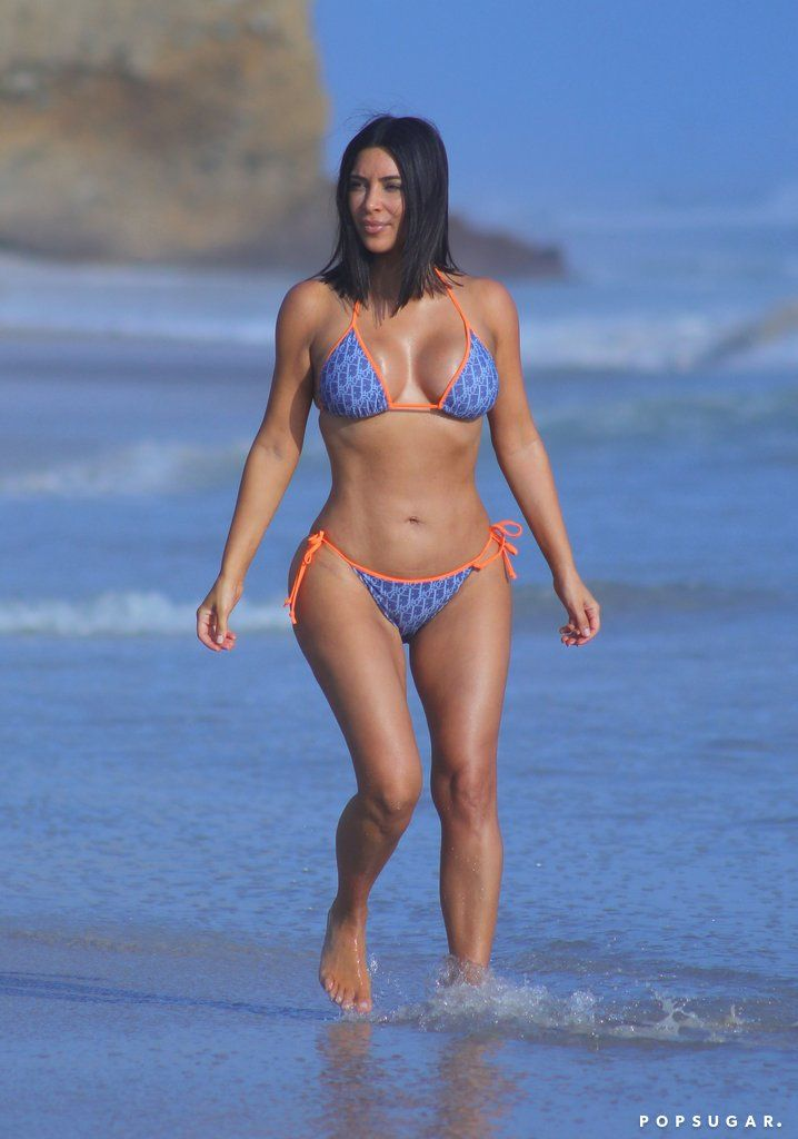 7b51ad7b7a308 Kim and Kourtney s Beach Vacation Involves a Good Amount of Booty and  Underboob