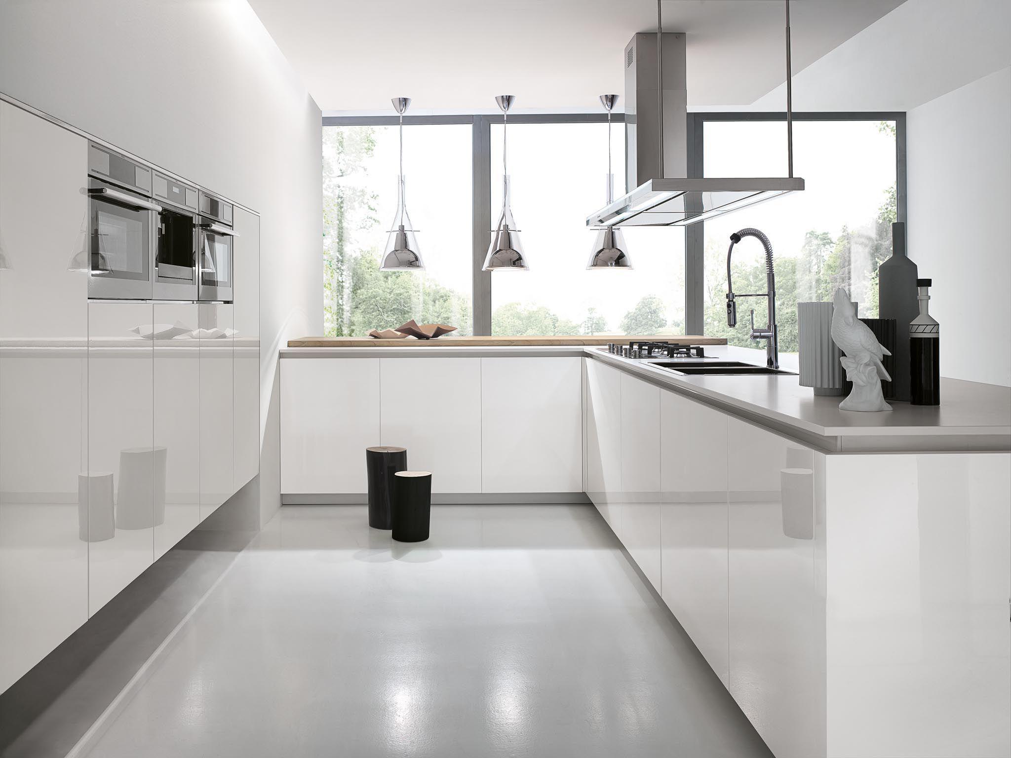 Modern Italian kitchen cabinets   Kitchen design, Modern kitchen ...
