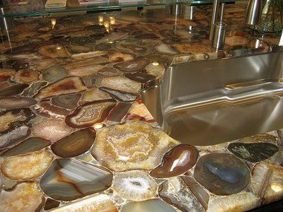 Amazing Agate Or Geode Countertops! From: Exotic Stone, Gem, And Precious  Metal Countertops At Www.