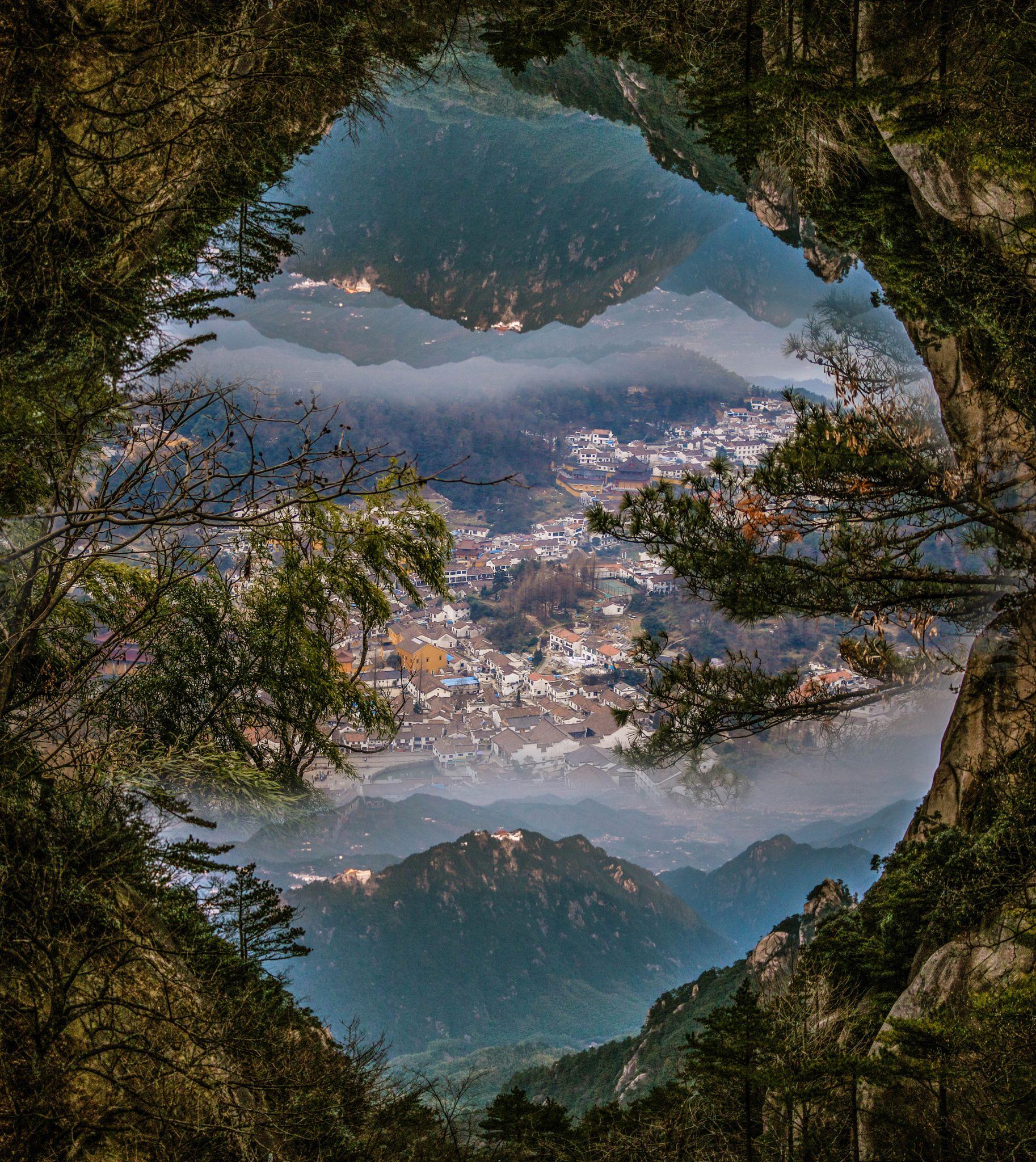Nature Landscape In Frame