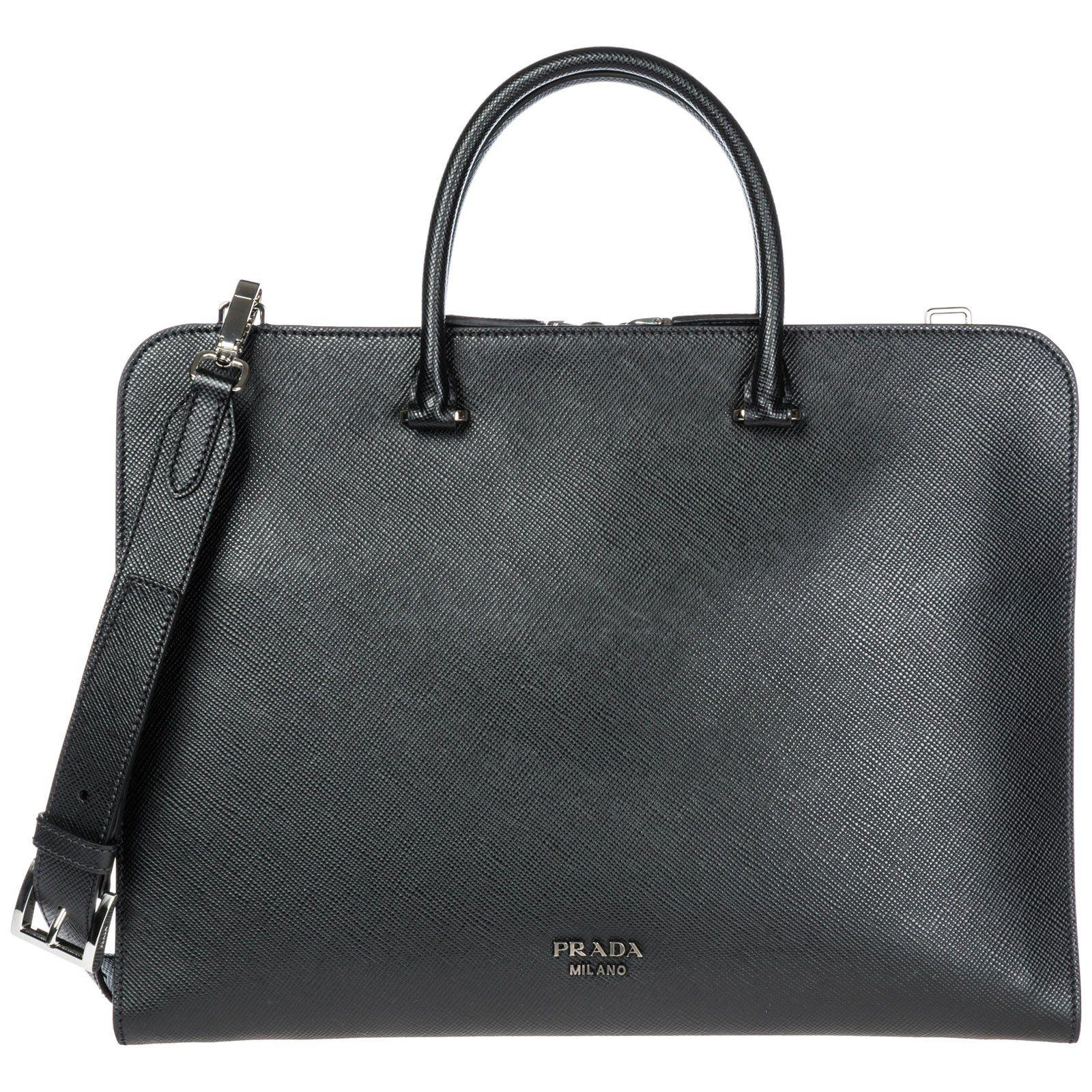 828dfafe89 PRADA PRADA LOGO LAPTOP BAG.  prada  bags  shoulder bags  hand bags ...