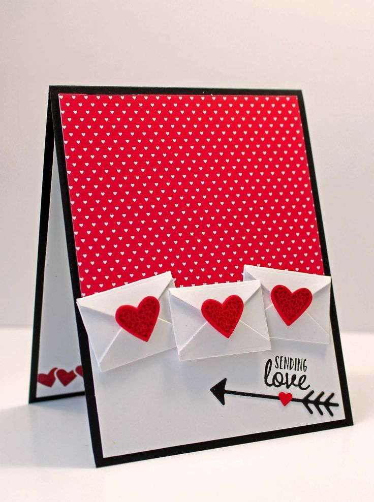 Marvelous Love Card Making Ideas Part - 11: Card Heart Hearts Envelope Letter Mail Kitchen Table Stamper Wonder Recipe  Stampin Up Sealed With Love