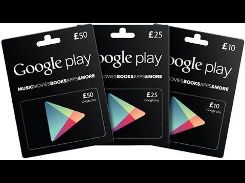 Google Play Gift Card 5 Dollar