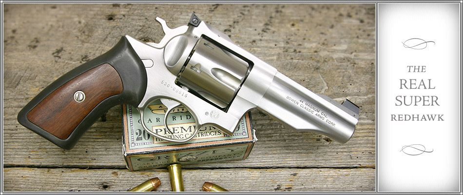 Bowen Classic Arms This is the Redhawk  44 magnum that Ruger should