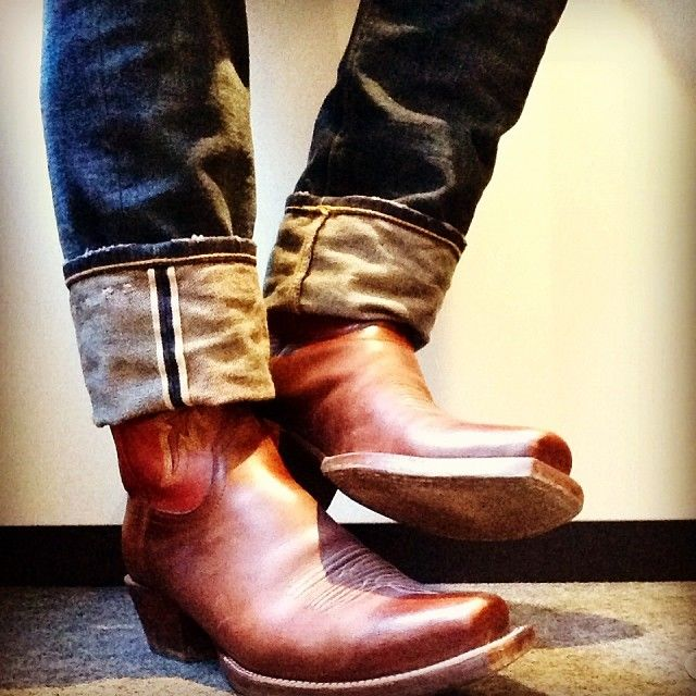 What do you guys think of this look? #Lucchese cowboy boots with ...