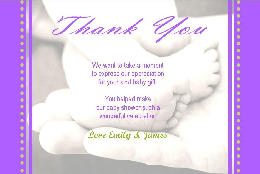 Download Now Tips And Ideas For Baby Shower Thank You Cards  Free