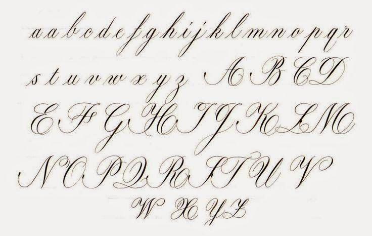 Curso Completo De Cursiva Inglesa Copperplate Aula 2 Inscricao