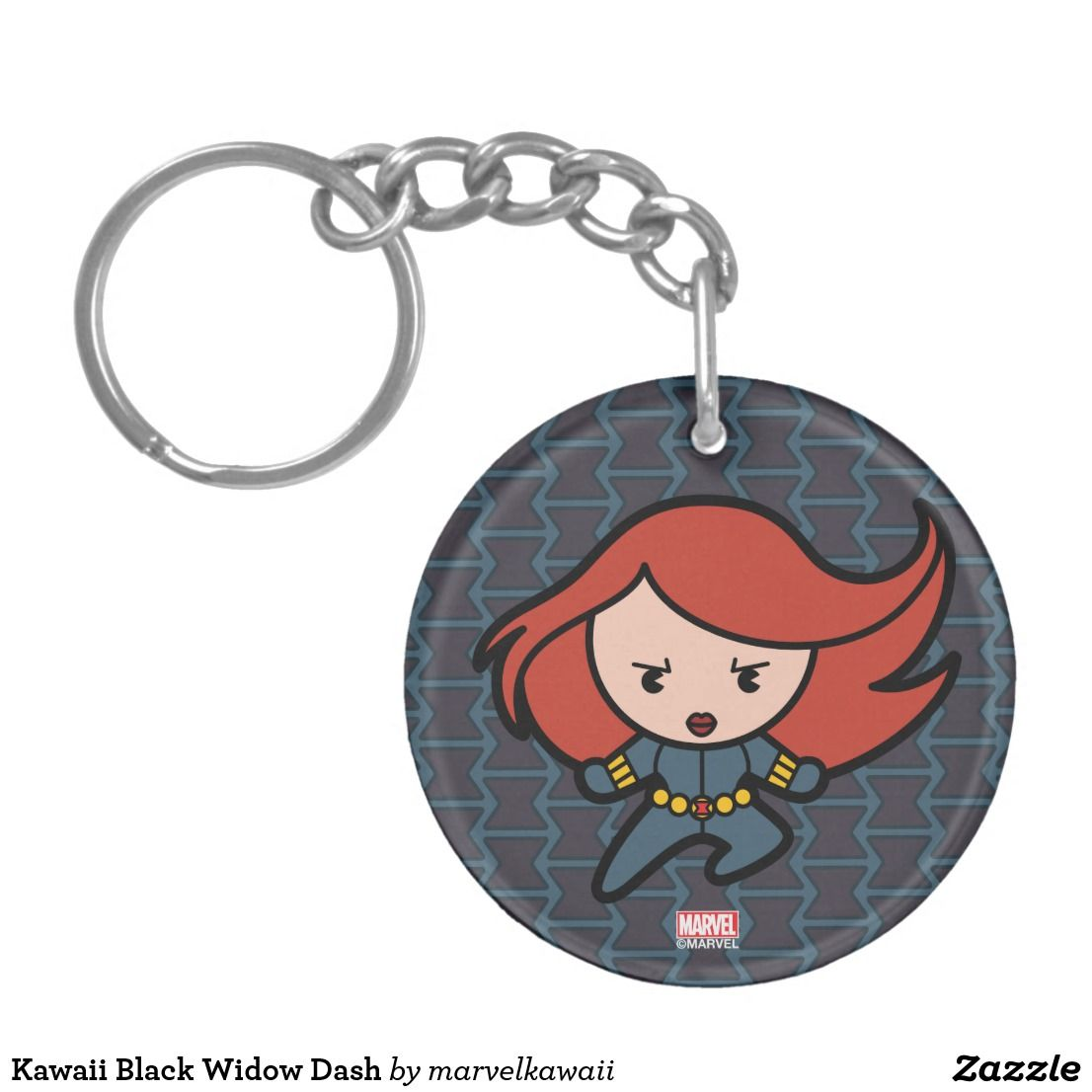 Kawaii Black Widow Dash Keychain Bright And Cool Marvel Superhero Designs To Personalize As A Gift For Yourself Friends Families