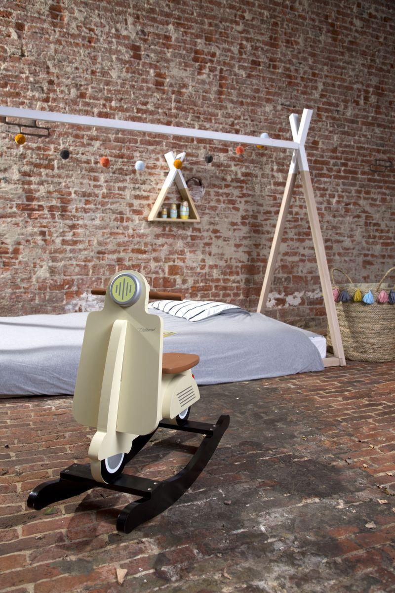 Entzückend Fantasyroom Lörrach Foto Von Childhome Tipi-bett Für 70x140cm Matratze Natur/weiß H