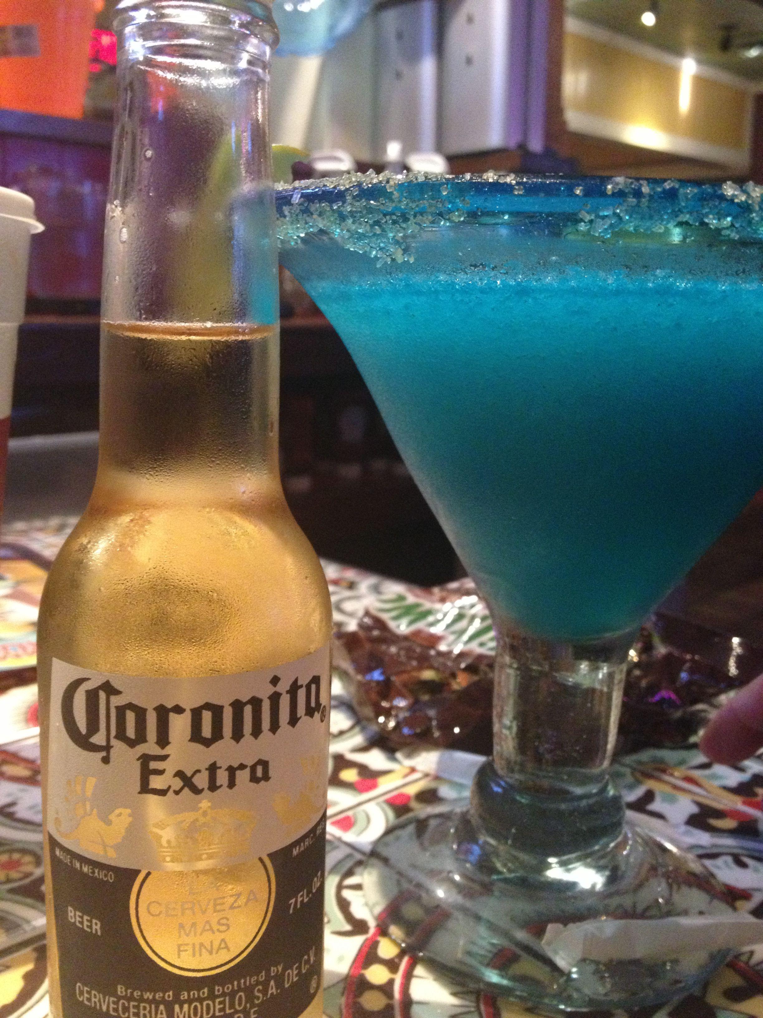 Blue Raz Corona Rita From Chili S Summer Drinks Corona Beer Bottle Beer Bottle