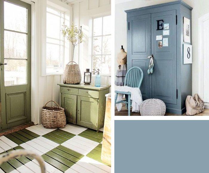 Een landelijk interieur mét kleur! - Blauw groen, Kleur en Kleur blauw