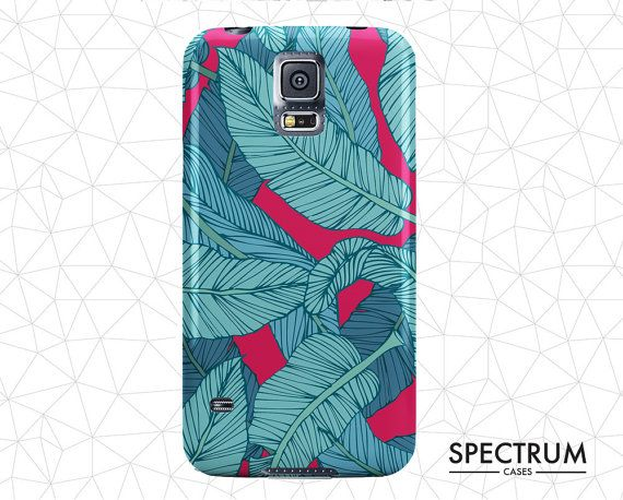 Banana Leaves Samsung Galaxy S6 Case Samsung S5 by SpectrumCases