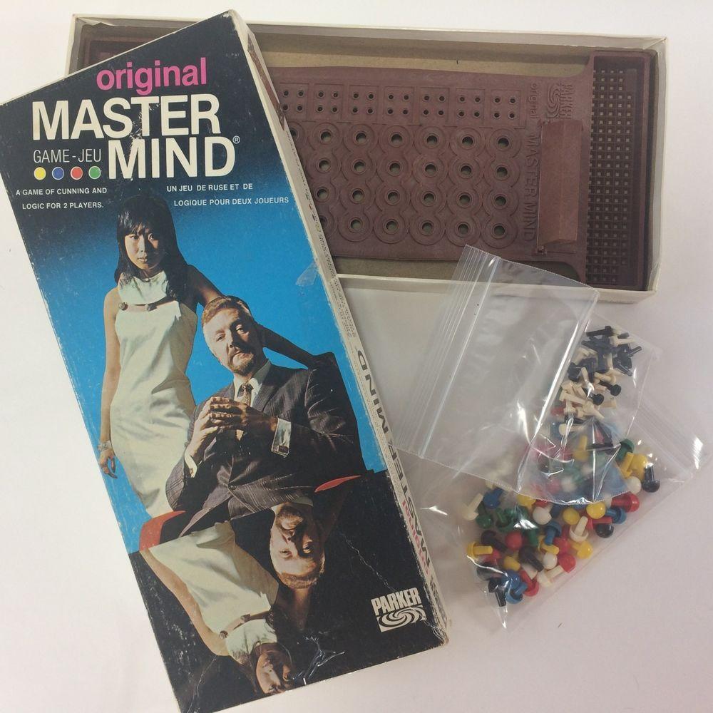 Original Master Mind Game 1972 Edition Parker Brothers