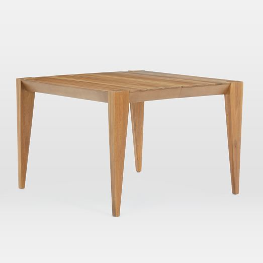 Anderson Solid Wood Expandable Dining Table Caramel Dining