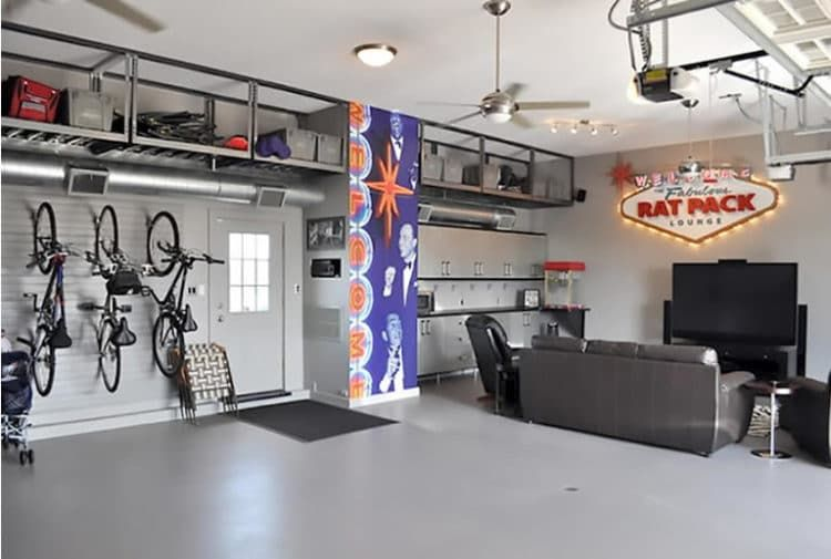 6 Man Cave Ideas On A Budget When A Tight Budget Shouldn T Mean Compromising On Quality Garage Game Rooms Man Garage Garage Remodel