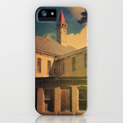 The Asylum iPhone & iPod Case by Olivia Joy StClaire - $35.00, architecture, haunted, neglected, abandoned