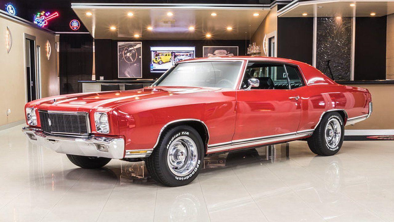 1971 Chevrolet Monte Carlo for sale 100866748 Monte