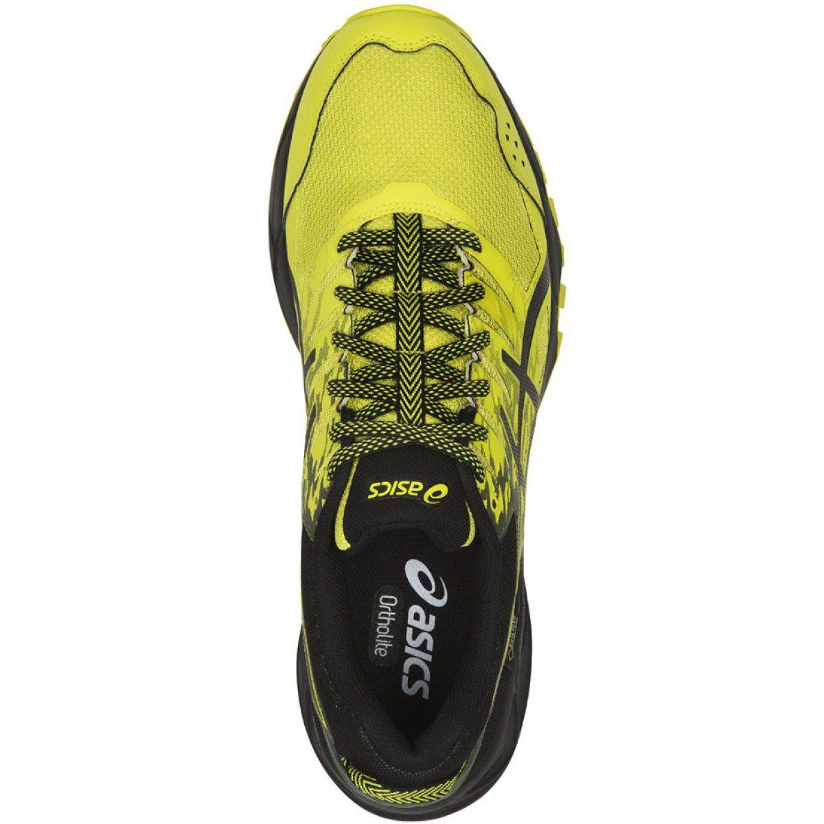 Buty Do Biegania Asics Gel Sonoma 3 M Gtx T727n 8990 Czarne Zolte Running Shoes Running Shoes For Men Black Running Shoes