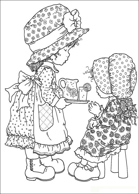 Dibujos para colorear e imprimir sarah kay - Imagui | Colorearte ...