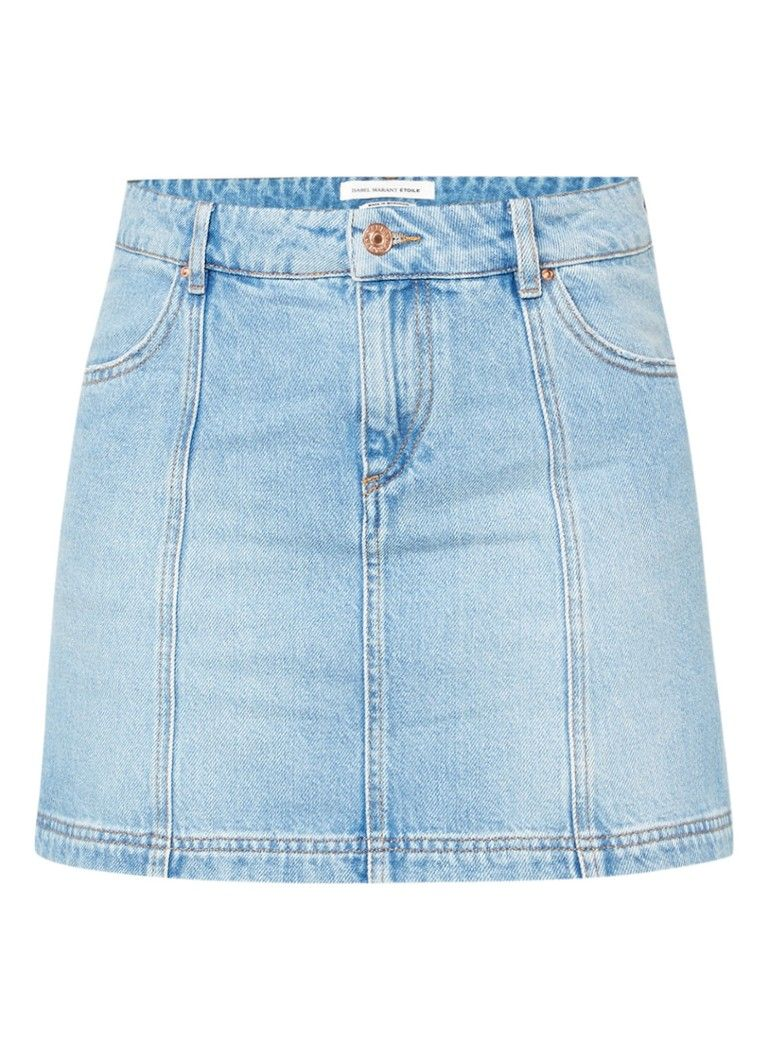 Isabel Marant Etoile Candice mini skirt denim • Beehive