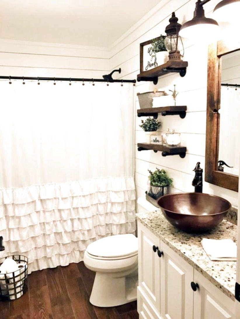 99 Best Farmhouse Bathroom Remodel Decoration Ideas The Expert Beautiful Ideas Farmhouse Bathroom Decor Chic Bathroom Decor Bathroom Remodel Designs
