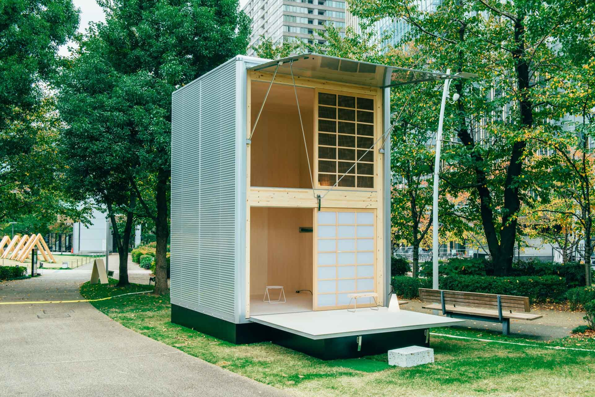 Muji Mobili ~ Simple living: muji will begin selling huts for just $25 000