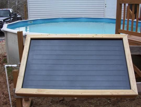 Do It Yourself Solar Swimming Pool Heater Water Works