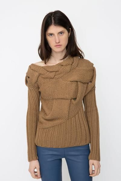 Ivory Cotton Sweater House of Dagmar £359 A key item in House of ...