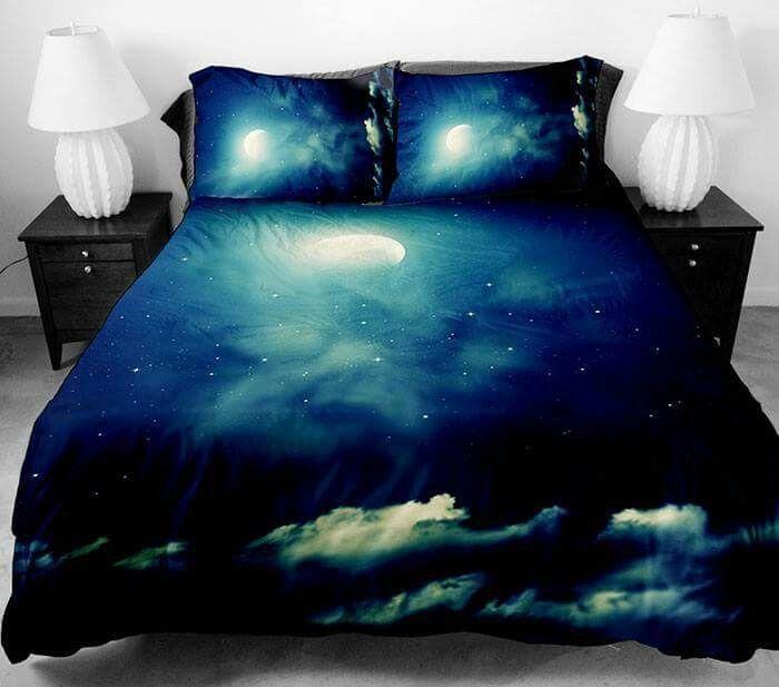 Night Sky Bedding Galaxy Bedding Home Bedding Sets