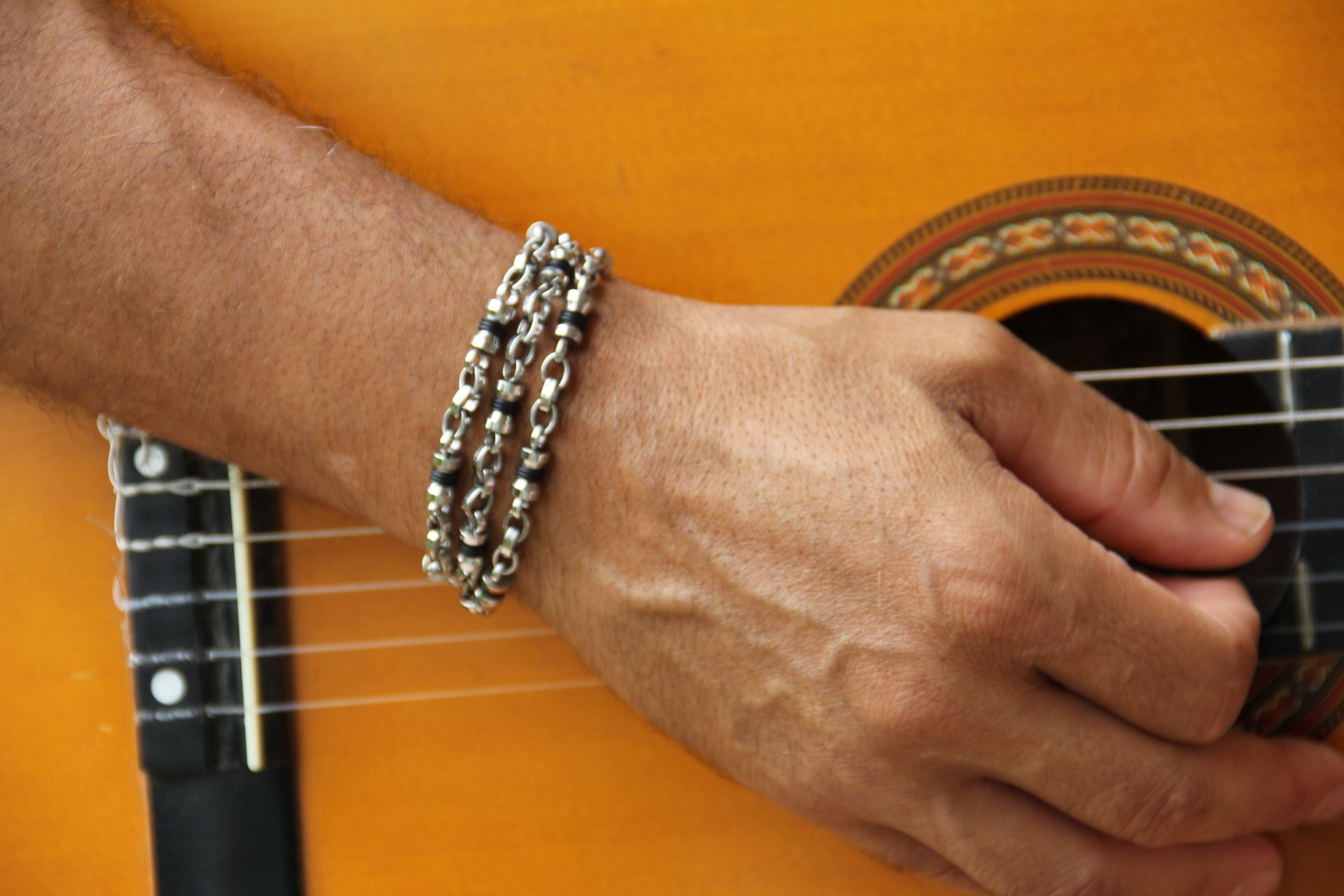 Bracelet en chaine homme