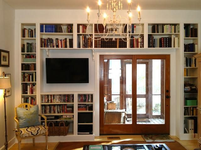 An Amazing Ikea Hack Built In Bookcases
