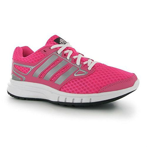 9d597ce4ba2 adidas Womens Galatic Elite Running Trainers Ladies Sports Shoes Lace Up  SolPink Sil Pnk UK 5.5 (38.7)