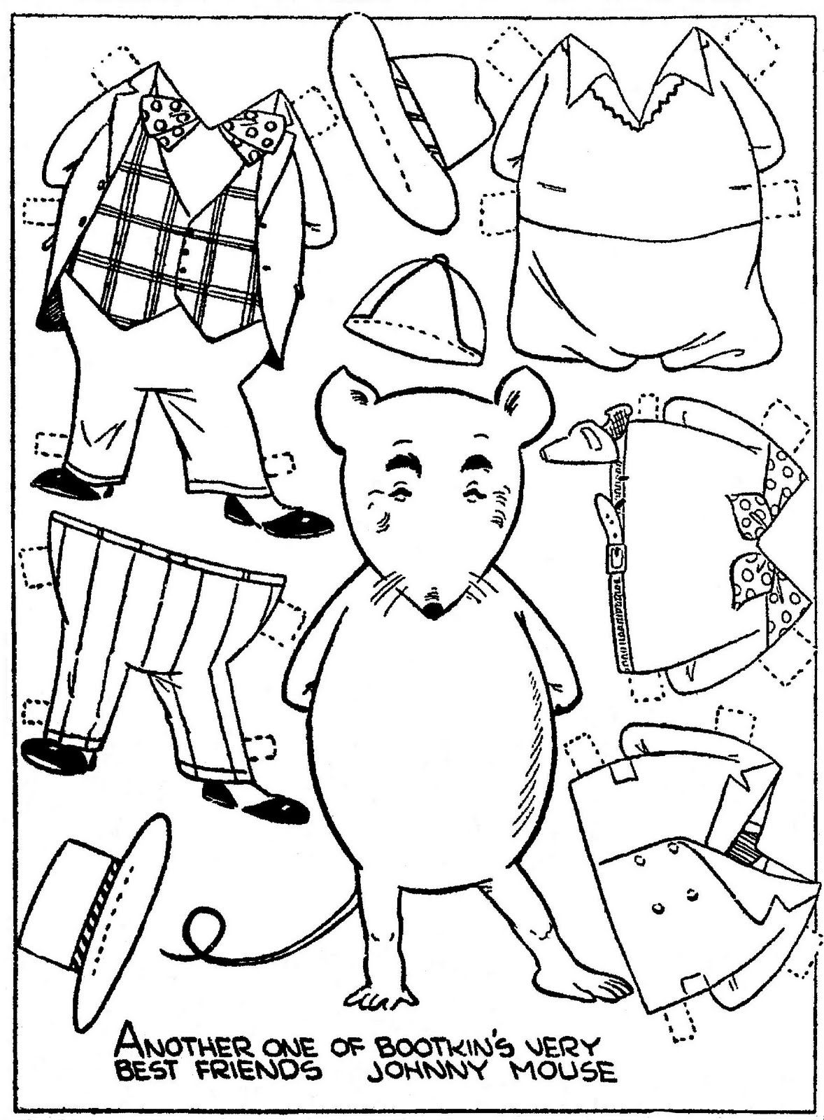 Pin By Koala Manus On Boots And Her Buddies 1 Paper Dolls Vintage Paper Dolls Paper Animals