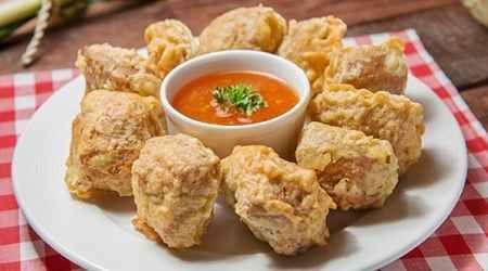 Resep Membuat Tahu Crispy Yang Kress Super Kriuk Resep Tahu Makanan Dan Minuman Resep