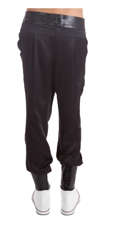 Shiny Boyfriend Pants on TROVEA.COM