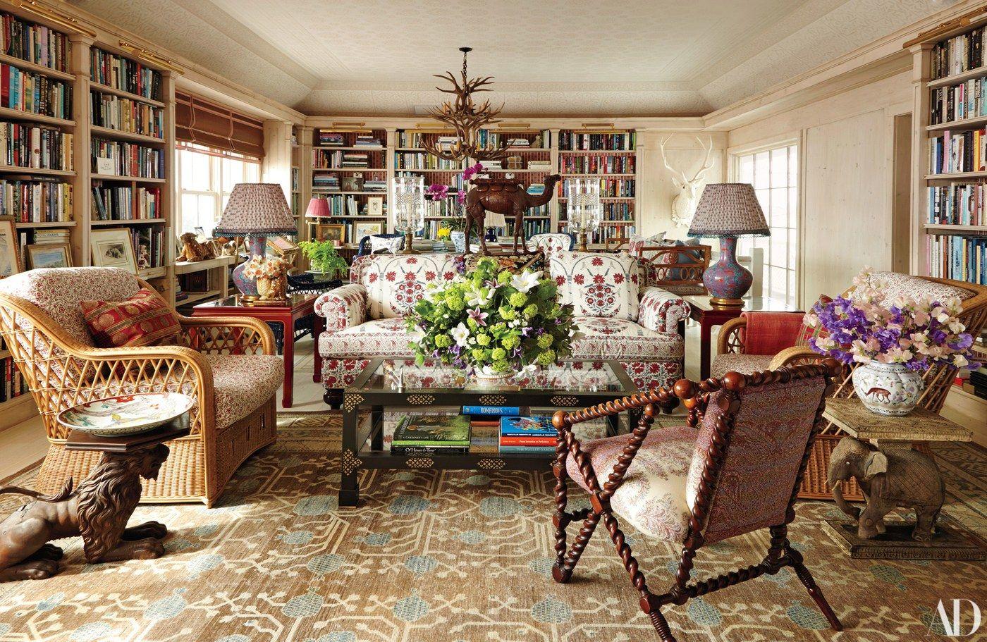 Bohemian Beauty via AD | Lovely Living Areas | Pinterest