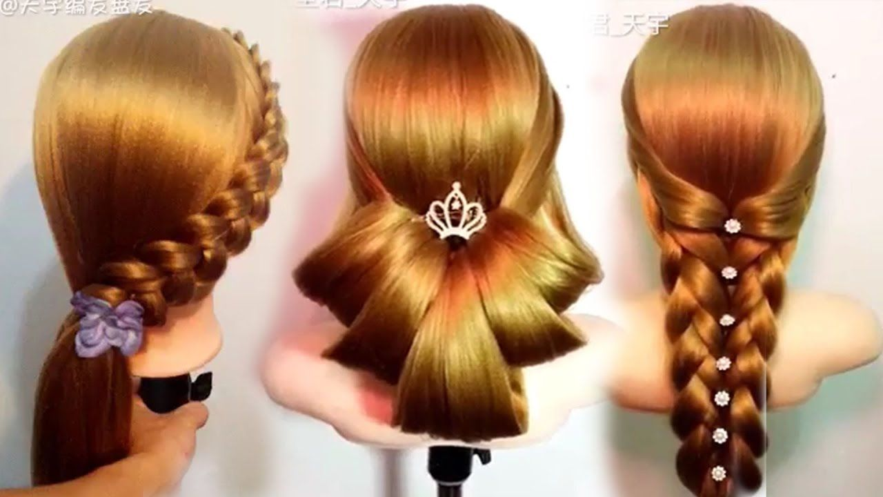 Top Best Hairstyle In The World Quick And Easy For School Hairstyle