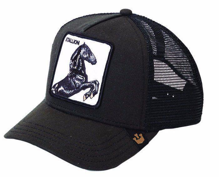 Goorin Bros Stallion Black Baseball Trucker Hat  c82ae44698a