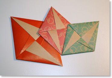 lettre env d co wenskaarten origami enveloppe origami en papier origami. Black Bedroom Furniture Sets. Home Design Ideas